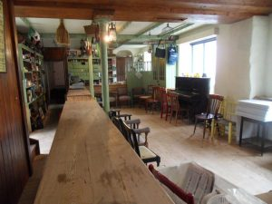 The old shop in Loughnane's, Feakle, is ideal for intimate concerts and other events.