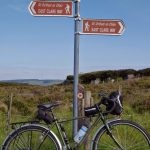 Cyclingb in East Clare